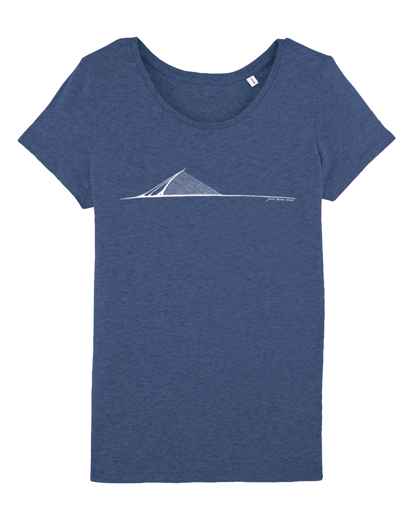 Women's Samuel Beckett Bridge Organic Tee