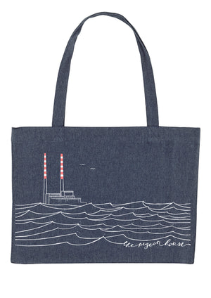 Poolbeg Chimneys-Heavy Duty Shopping Bag