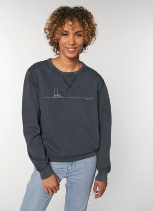 Pigeon House Unisex Eco Sweater (Vintage Wash)