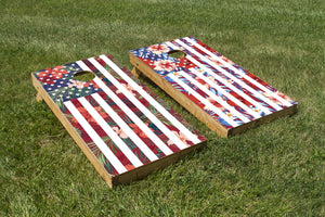 A-loha-merica Flag - The Cornhole Crew