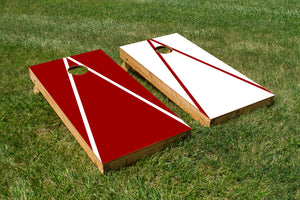 Alabama Crimson and White - The Cornhole Crew