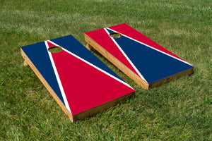 Arizona Cardinal and Navy Blue - The Cornhole Crew