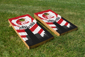 Atlanta Falcons Skyline  - The Cornhole Crew