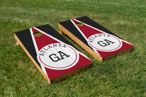 Atlanta Wood Grain - The Cornhole Crew