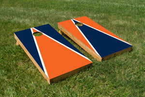 Auburn Orange, Navy and White - The Cornhole Crew