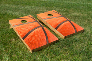 Up Close Basketball - The Cornhole Crew