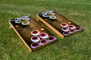 Beer Pong on Table
