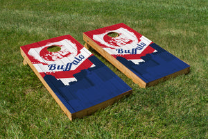 Buffalo Bills Skyline  - The Cornhole Crew