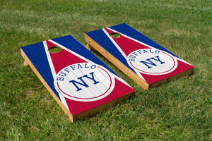 Buffalo Wood Grain - The Cornhole Crew