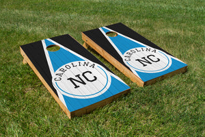Carolina Wood Grain - The Cornhole Crew