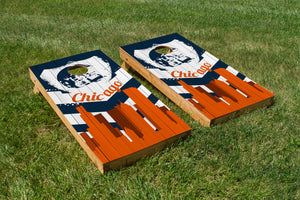 Chicago Bears Skyline  - The Cornhole Crew