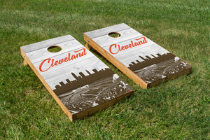 Cleveland Browns Stadium Skyline