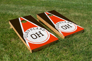 Cleveland Wood Grain - The Cornhole Crew