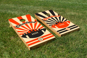 Cleveland Football - The Cornhole Crew