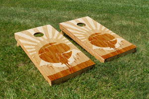 Rustic Art: Cowboy - The Cornhole Crew