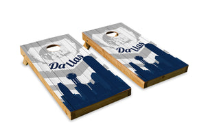 Dallas Cowboys Skyline  - The Cornhole Crew