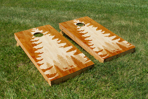 Rustic Art: Deer - The Cornhole Crew