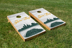 Green Bay Packers Stadium Skyline