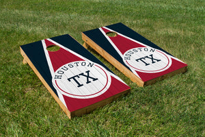 Houston Wood Grain - The Cornhole Crew