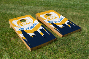 Los Angeles Charges Skyline  - The Cornhole Crew