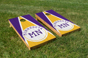 Minnesota Wood Grain - The Cornhole Crew