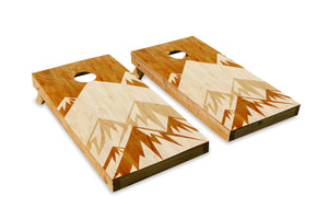 Rustic Art: Mountains - The Cornhole Crew