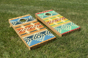 Navajo Pattern - The Cornhole Crew