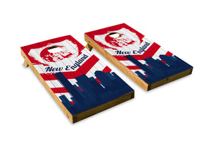 New England Patriots Skyline  - The Cornhole Crew