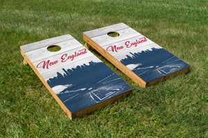 New England Patriots Stadium Skyline