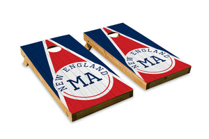 New England Wood Grain - The Cornhole Crew