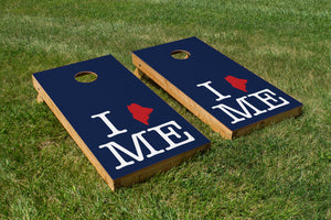 New England Patriots-Maine Pride - The Cornhole Crew