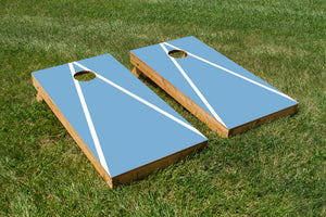 North Carolina White and Carolina Blue - The Cornhole Crew