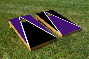 Northwestern White Purple - The Cornhole Crew