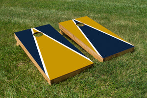 Notre Dame Navy and Gold - The Cornhole Crew