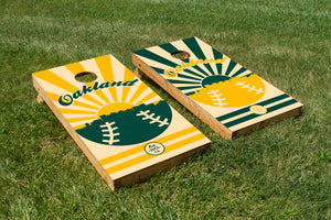 Oakland Baseball - The Cornhole Crew