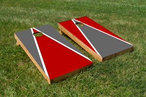 Ohio State Grey and Scarlet - The Cornhole Crew