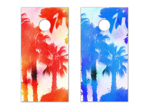 Palm Trees - The Cornhole Crew