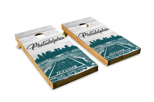 Philadelphia Eagles Stadium Skyline