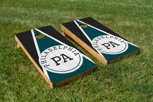 Philadephia Wood Grain - The Cornhole Crew