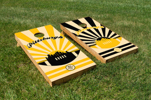 Pittsburgh Football - The Cornhole Crew