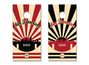 San Francisco Football - The Cornhole Crew