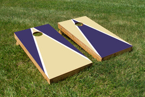 Washington Purple and Gold - The Cornhole Crew