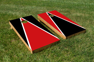 Wisconsin Cardinal and White - The Cornhole Crew