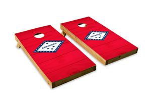 Wood Grain Arkansas State Flag
