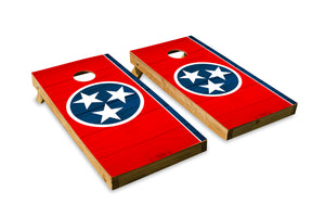 Wood Grain Tennessee State Flag