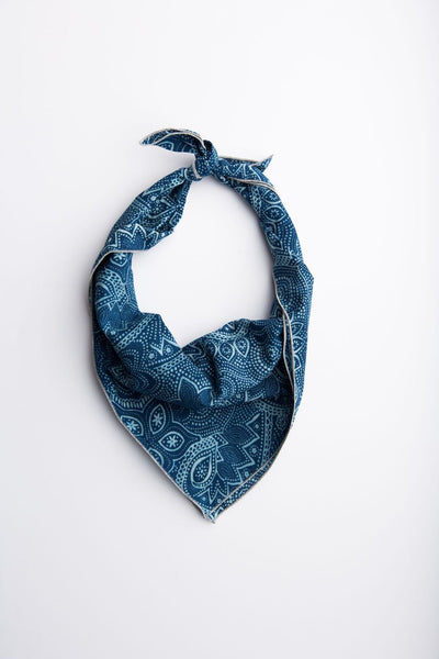 Indigo Wave Neckerchief