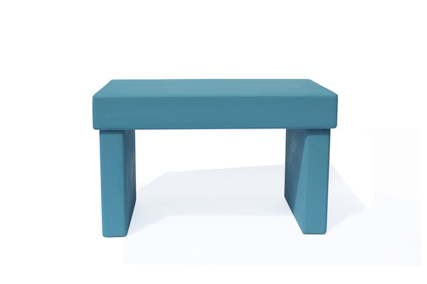 French Enamel Bench