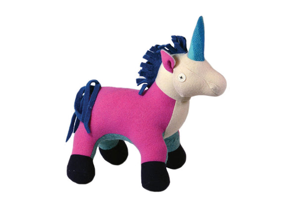 Stuffed Unicorn ---