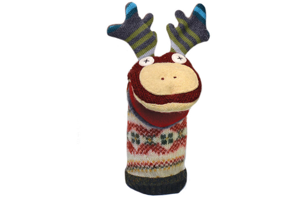 Moose Puppet ---