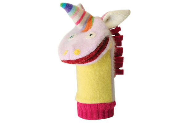 Unicorn Puppet ---